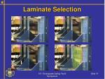 laminate selection14