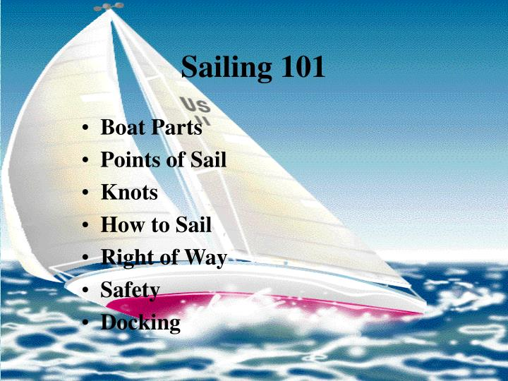 Sailing 1012