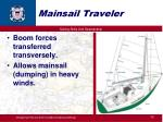 mainsail traveler