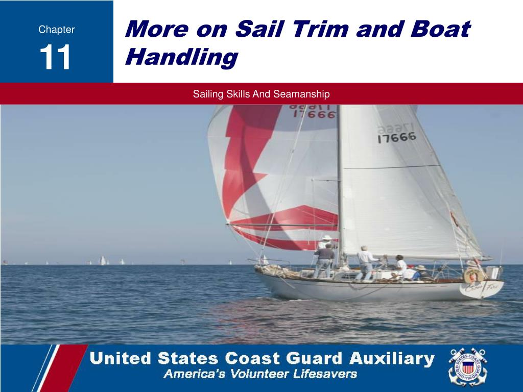 more on sail trim and boat handling l.