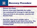 recovery procedure