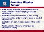 standing rigging tuning