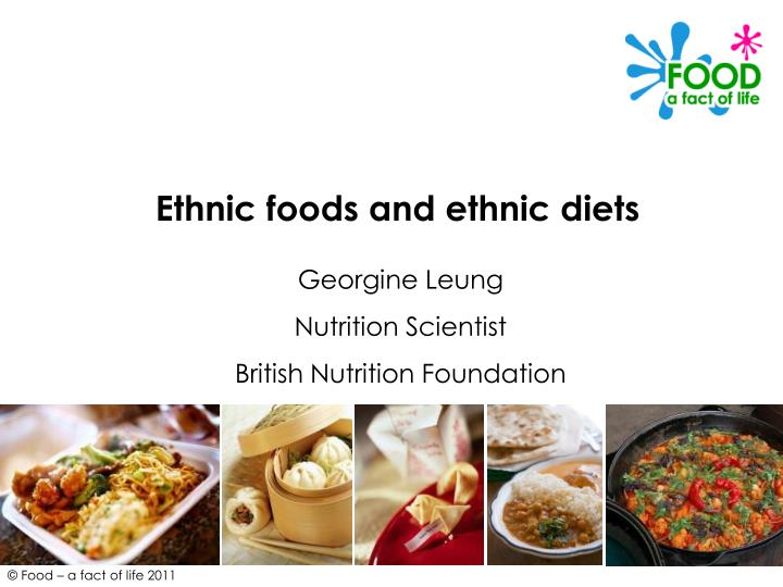 what is ethnic food