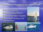 benefits of membership continued7
