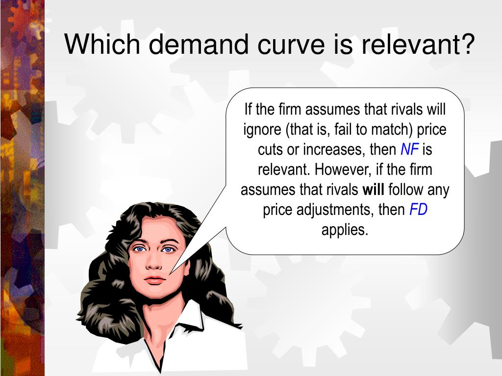 Which demand curve is relevant?