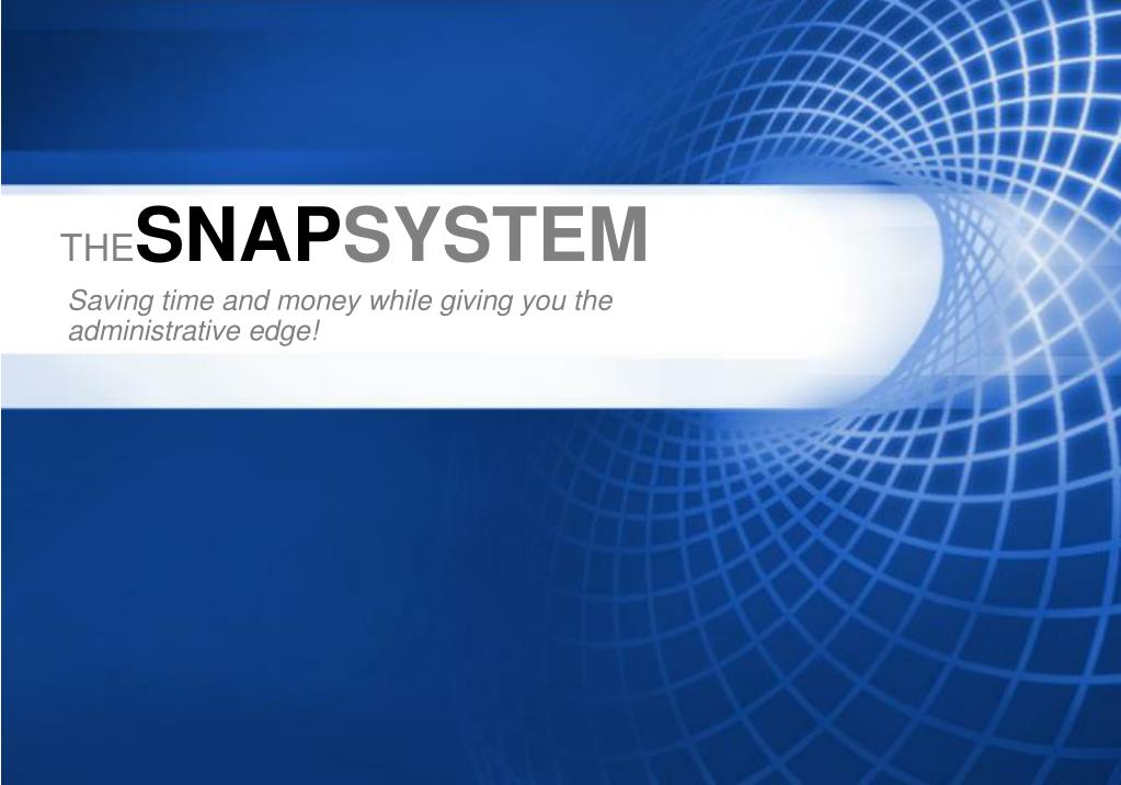 the snap system l.