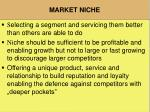 market niche