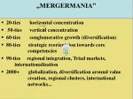 mergermania