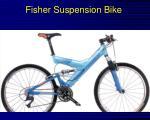 fisher suspension bike