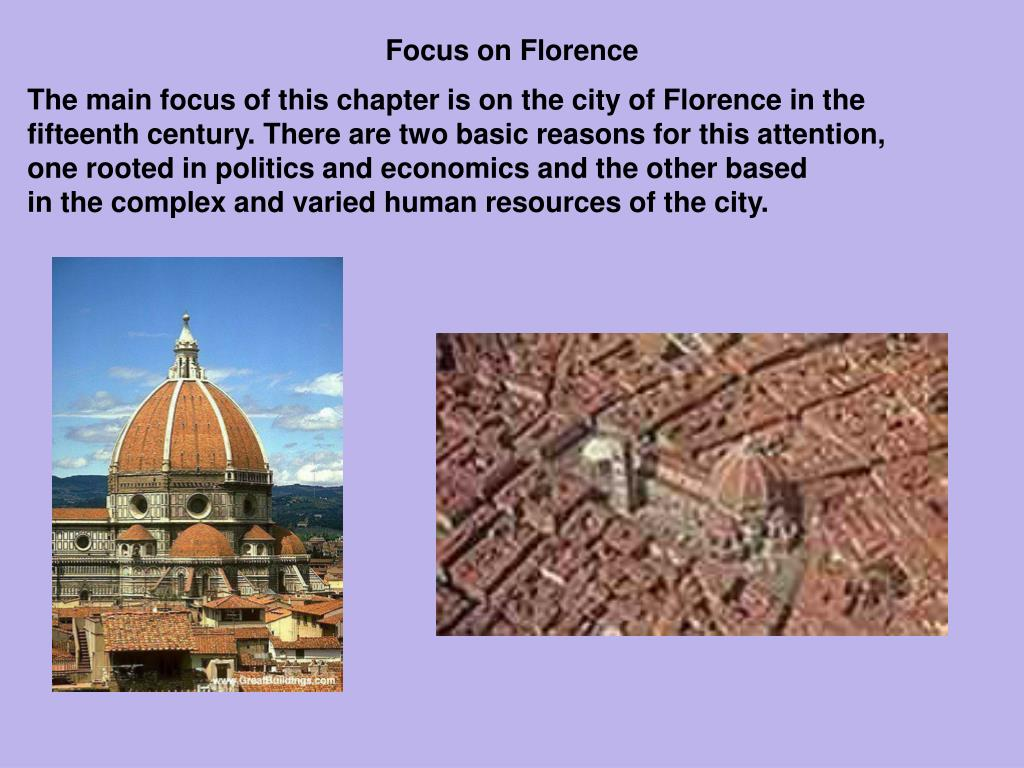 Focus on Florence
