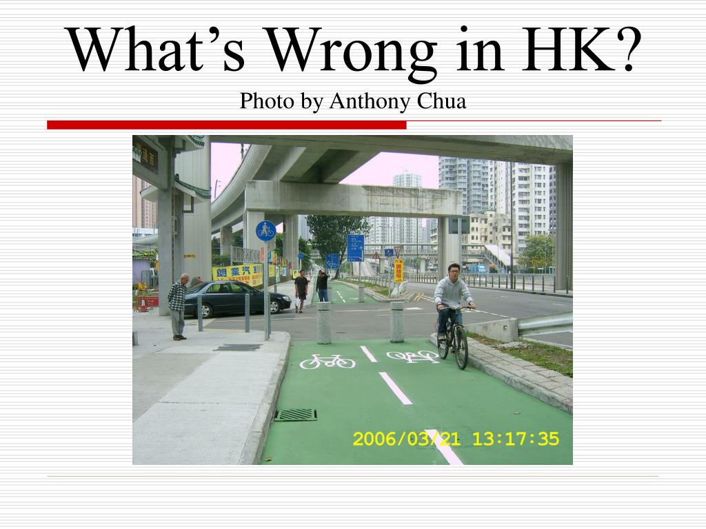 What's Wrong in HK?