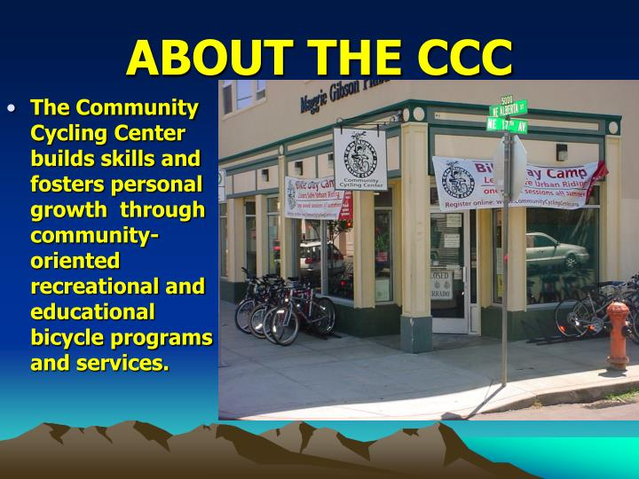 About the ccc