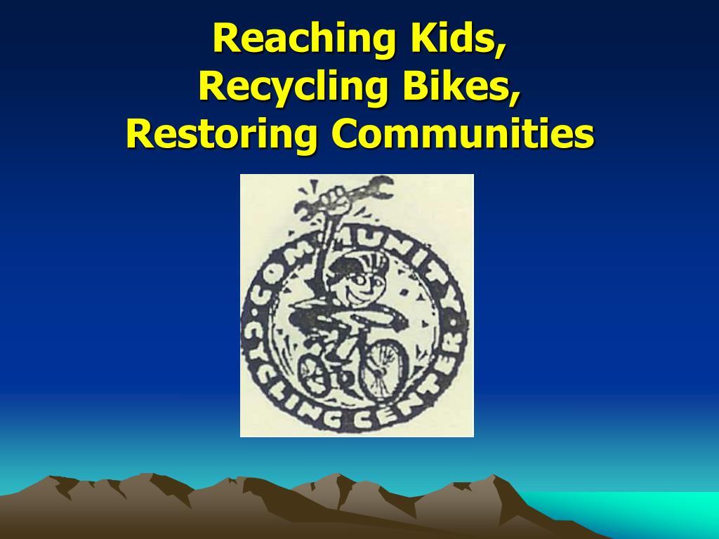 Reaching Kids,