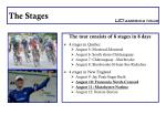 the stages