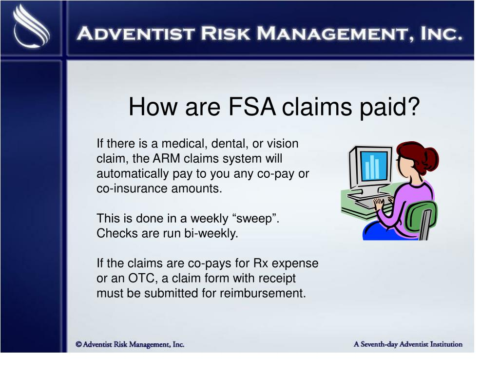 How are FSA claims paid?