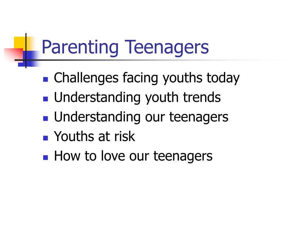 parenting teenagers l.