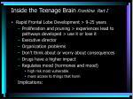 inside the teenage brain frontline part i