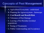 concepts of pest management18