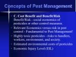 concepts of pest management21