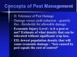 concepts of pest management23