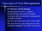 concepts of pest management29