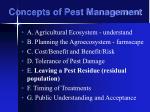 concepts of pest management31