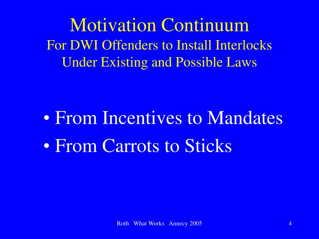 Motivation Continuum
