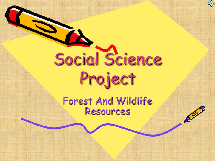social science project n.