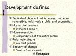 development defined4