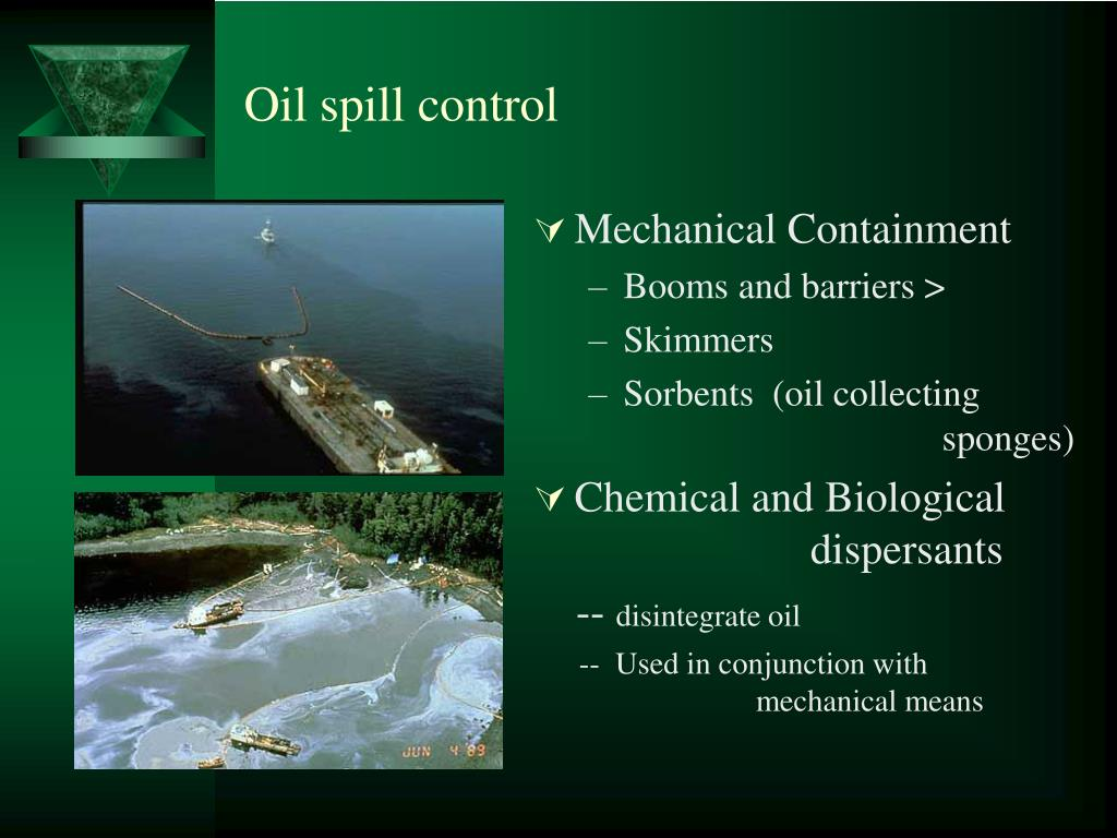 Oil spill control