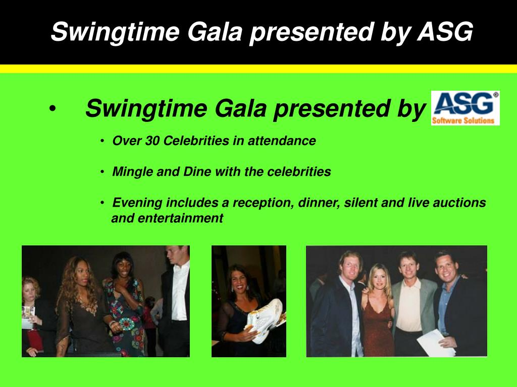 Swingtime Gala presented by ASG