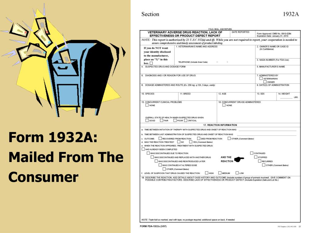 Form 1932A: