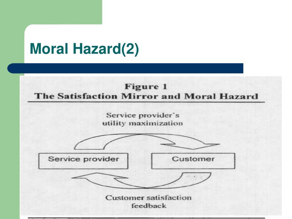 Moral Hazard(2)