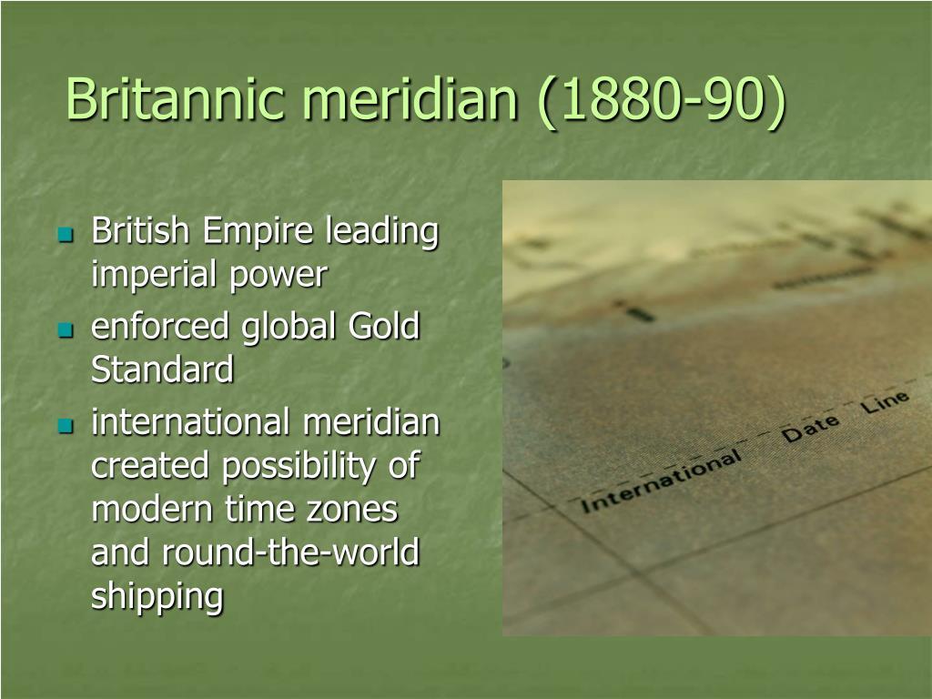 Britannic meridian (1880-90)