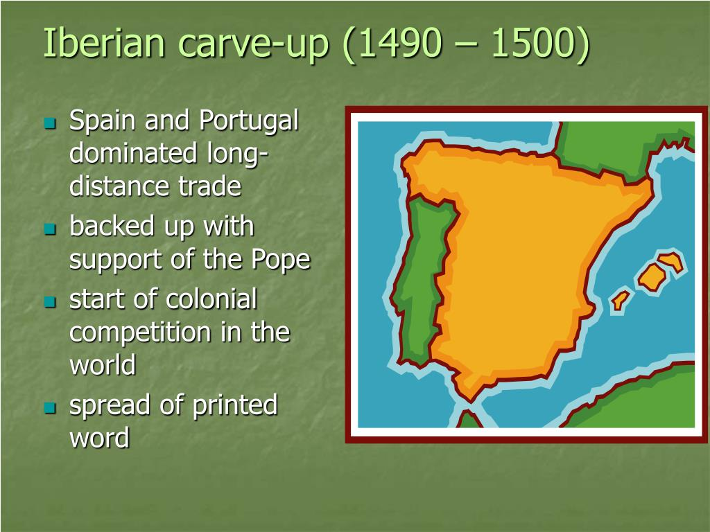 Iberian carve-up (1490 – 1500)