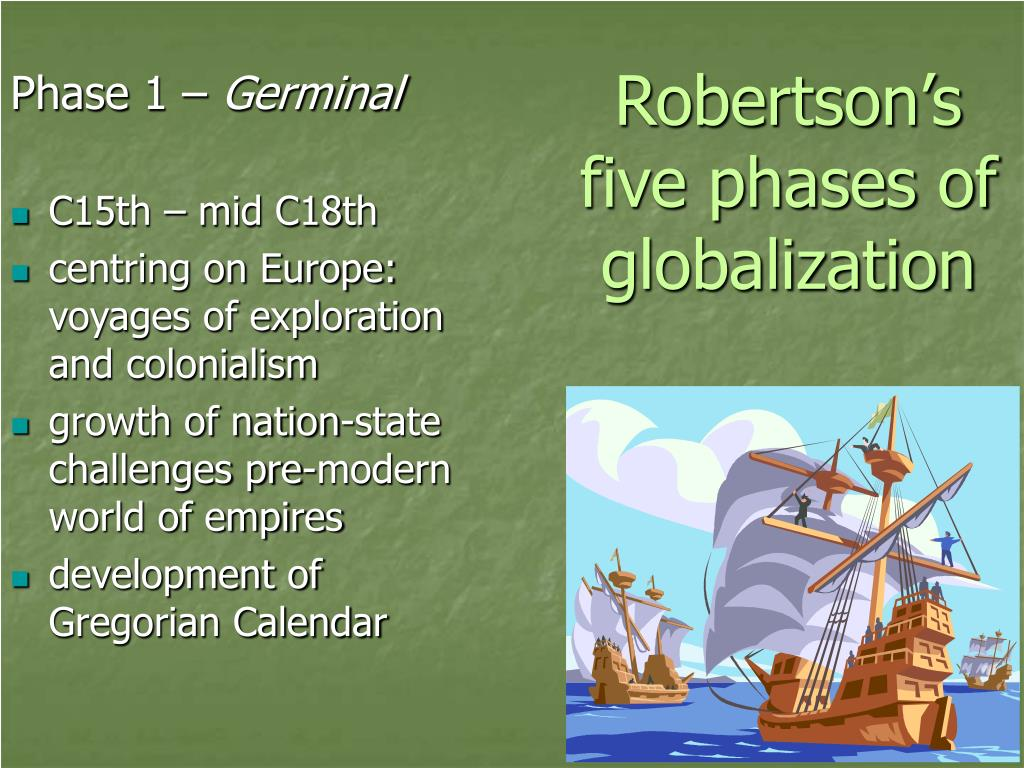 Robertson's five phases of globalization