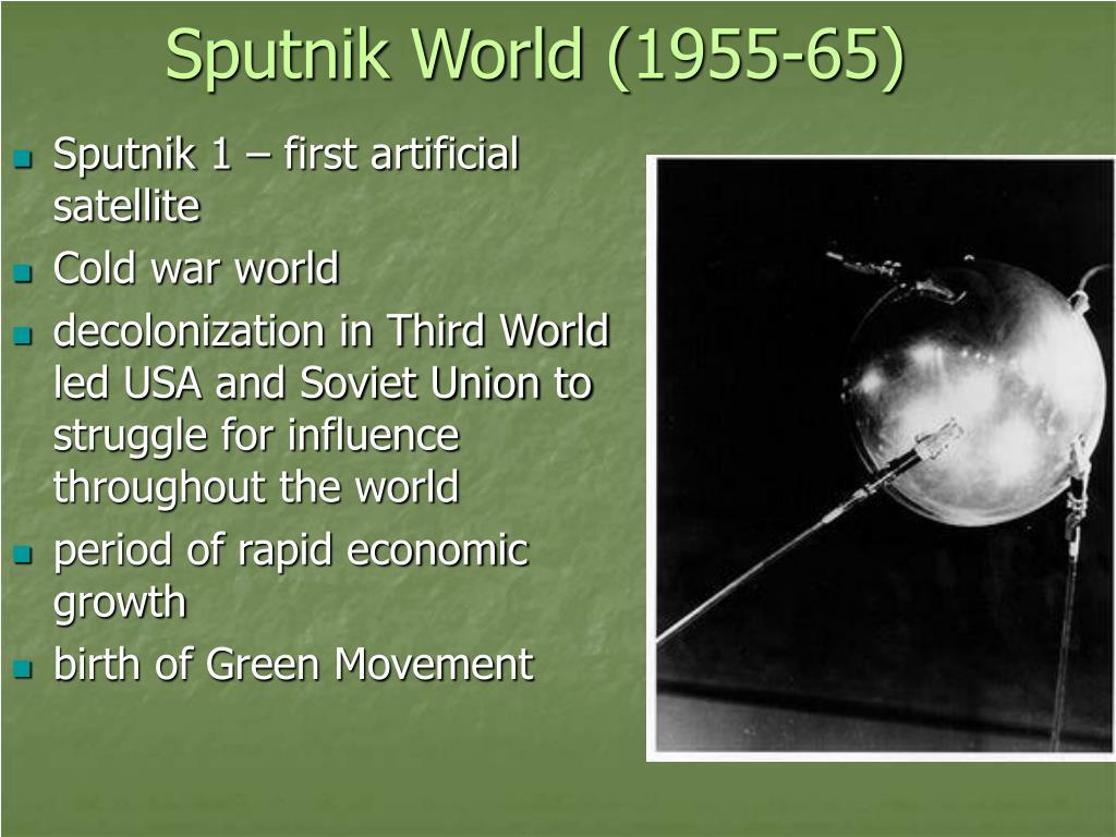 Sputnik World (1955-65)