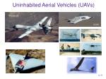 uninhabited aerial vehicles uavs12