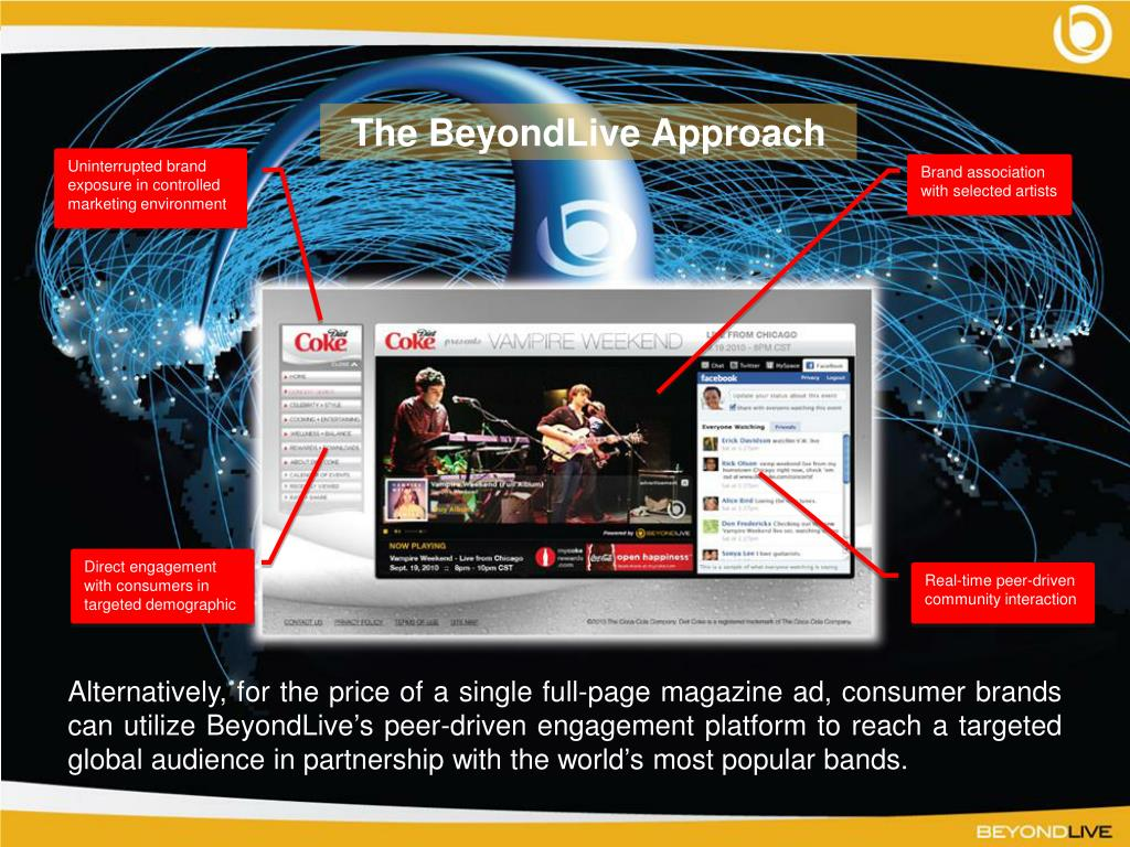 The BeyondLive Approach