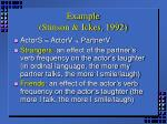 example stinson ickes 1992