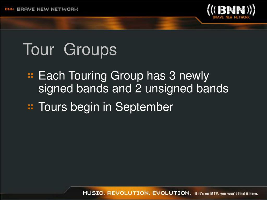 Tour  Groups