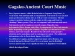 gagaku ancient court music6