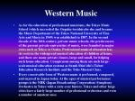 western music18