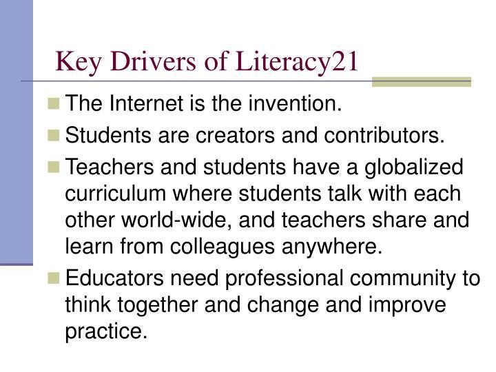 Key Drivers of Literacy21