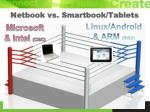 netbook vs smartbook tablets