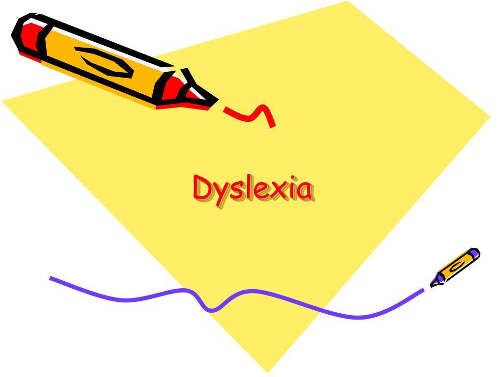 dyslexia l.
