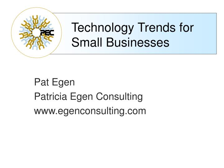 technology trends for small businesses n.