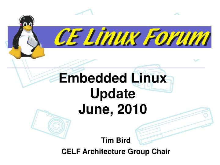embedded linux update june 2010 n.
