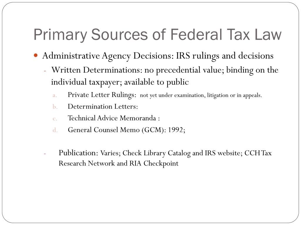 tax law research Start studying tax research learn vocabulary, terms, and more with flashcards, games, and other study tools.