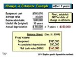 change in estimate example11